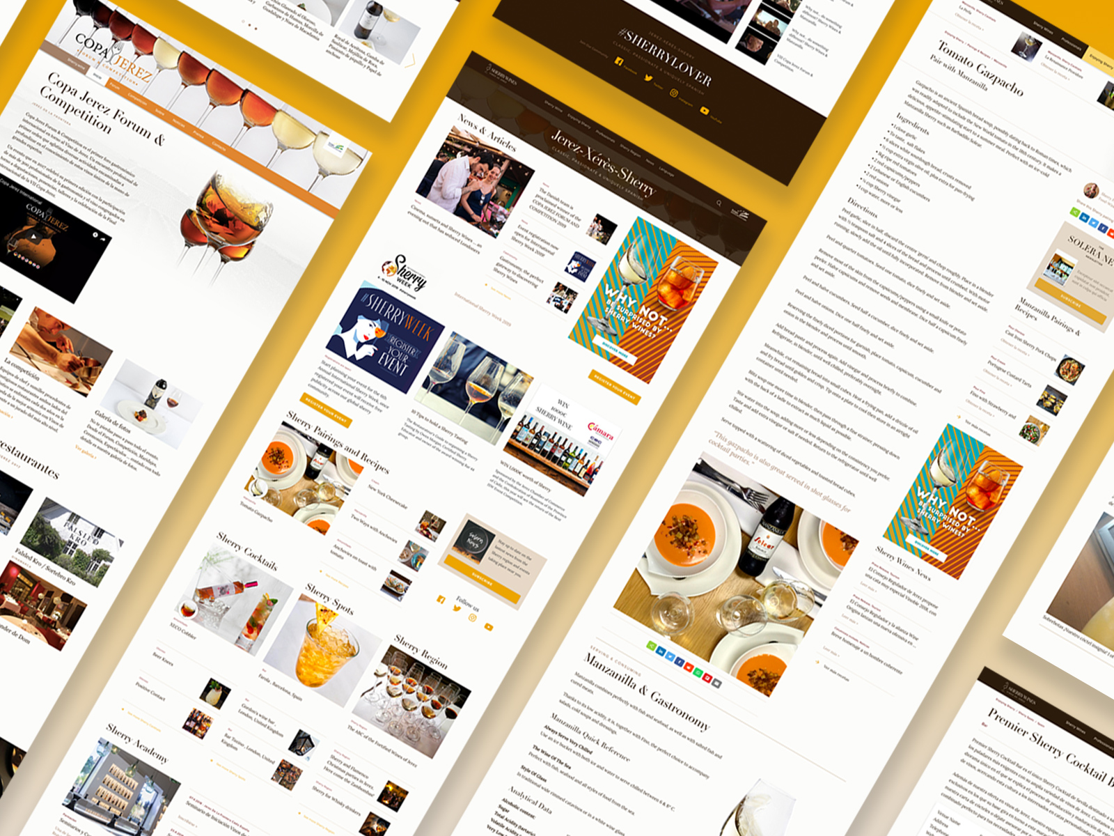 Sherry Wine Website