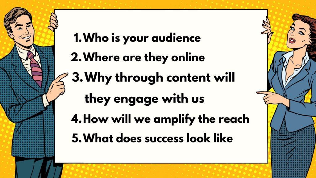 5 steps to digital marketing strategy