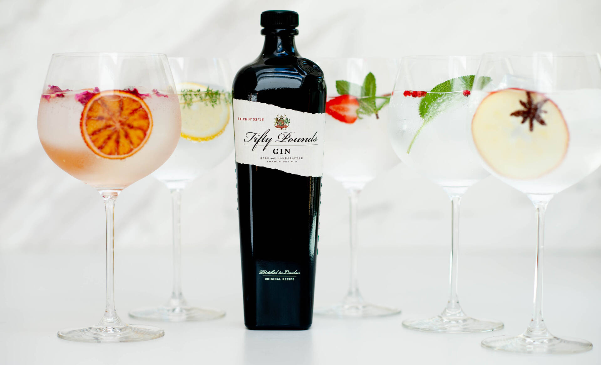 fifty pound gin adjusted